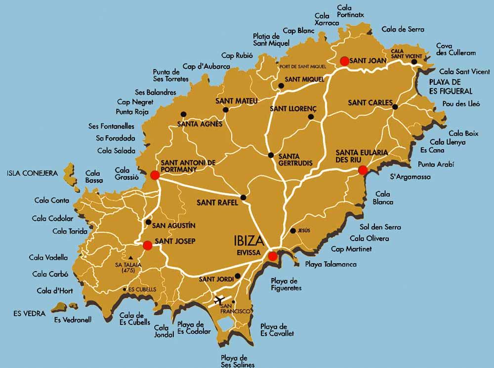 Aeroporto Ibiza : Just to go holiday and business travel