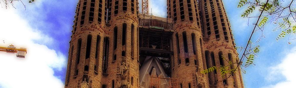 Sagrada familia di barcellona guida dettagliata della for Architettura contemporanea barcellona